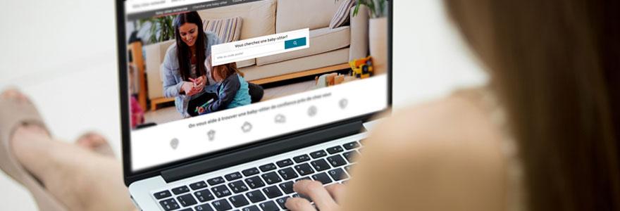 trouver une baby-sitter en ligne